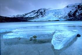 Eyjafjallajokull's outlet glacier