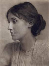 Virginia Woolf: photograph by George Beresford from Wikimedia Commons