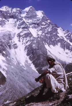 Shepherd in the Kaghan valley