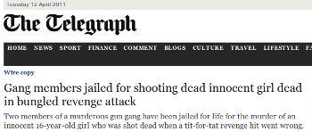 Shooting the dead dead