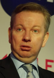Michael Gove at the BETT Show, 2012